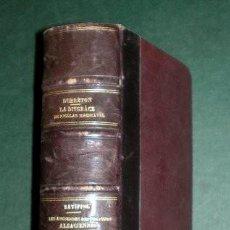 Libros antiguos: DUBRETON, J. / BATIFFOL, L.: LA DISGRACE DE NICOLAS MACHIAVEL / ANCIENNES REPUBLIQUES ALSACIENNES. Lote 195097295