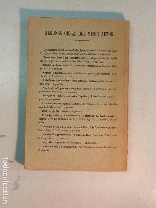 Libros antiguos: Jerónimo Becker: La reforma Constitucional en España (1923) - Foto 2 - 195344005