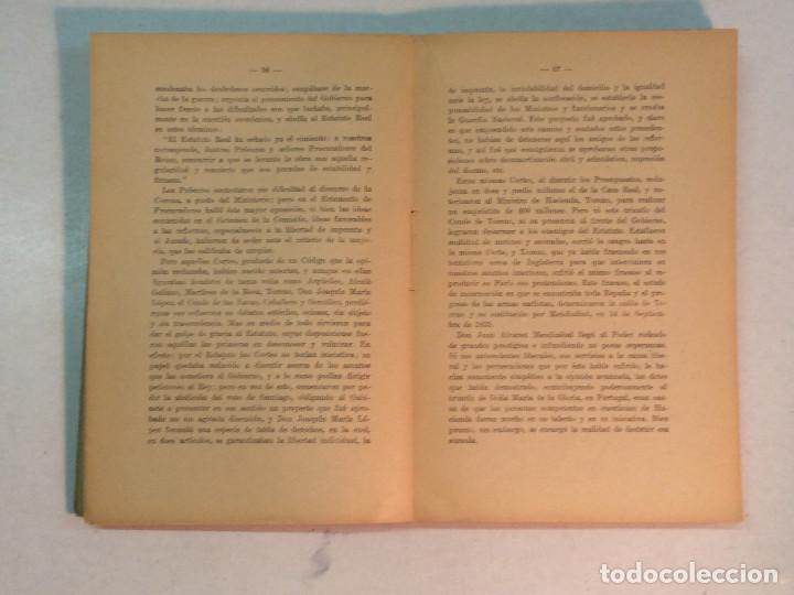 Libros antiguos: Jerónimo Becker: La reforma Constitucional en España (1923) - Foto 5 - 195344005