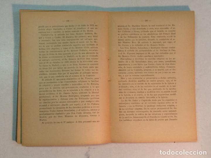Libros antiguos: Jerónimo Becker: La reforma Constitucional en España (1923) - Foto 6 - 195344005