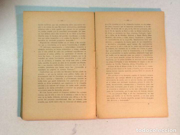 Libros antiguos: Jerónimo Becker: La reforma Constitucional en España (1923) - Foto 7 - 195344005