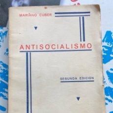 Libros antiguos: LIBRO ANTI SOCIALISMO 1935. Lote 198533353