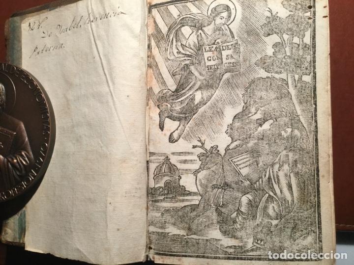 Libros antiguos: Consejos de la sabiduría de Salomón. Manuel Ribeyro. Barcelona 1700 - Foto 2 - 199055271