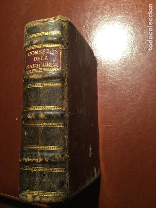 Libros antiguos: Consejos de la sabiduría de Salomón. Manuel Ribeyro. Barcelona 1700 - Foto 4 - 199055271