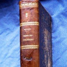 Libros antiguos: TRATADO ELEMENTAL DE DERECHO POLÍTICO. Lote 200304871