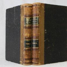 Libros antiguos: LA MORALE ET LA LOI DE L'HISTOIRE PAR A. GRATRY. 2 TOMOS. 1868. EX-LIBRIS MARQUÉS DE MONISTROL.. Lote 203296083