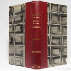 Libros antiguos: REFUSÉ PAR LA PRESSE. LÉON DE PONCINS. PARIS. ALEXIS REDIER, ÉDITEUR. 11, RUE DE SÉVRES (VIE). 1931.. Lote 203296366