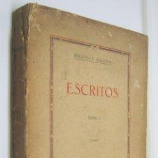 Libros antiguos: RARO - 1930 PANAMA - ESCRITOS TI PRESIDENTE DR. PABLO AROSEMENA NICOLAS VICTORIA JAEN. Lote 203812713