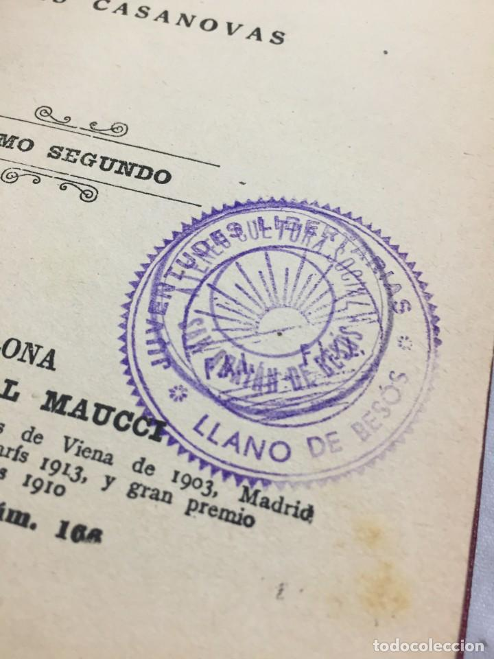 Libros antiguos: Humano, demasiado humano Federico Nietzsche Tomo Segundo sello de Juventudes Libertarias Llano Besos - Foto 4 - 204709885