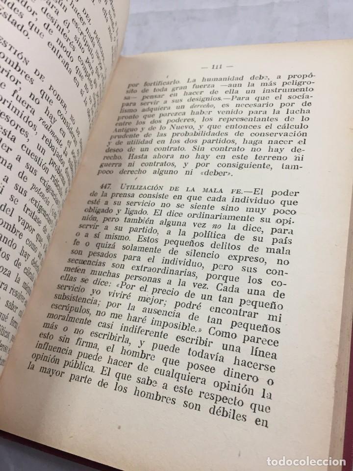 Libros antiguos: Humano, demasiado humano Federico Nietzsche Tomo Segundo sello de Juventudes Libertarias Llano Besos - Foto 5 - 204709885