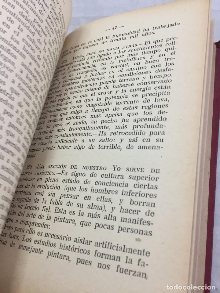 Libros antiguos: Humano, demasiado humano Federico Nietzsche Tomo Segundo sello de Juventudes Libertarias Llano Besos - Foto 10 - 204709885