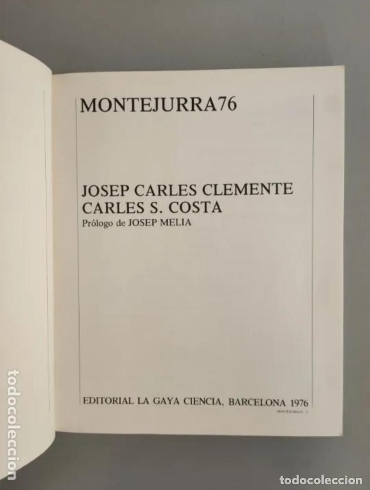 Libros antiguos: MONTEJURRA 76, ENCRUCIJADA POLÍTICA. JOSEP CARLES CLEMENTE, 1976 - Foto 2 - 205022222
