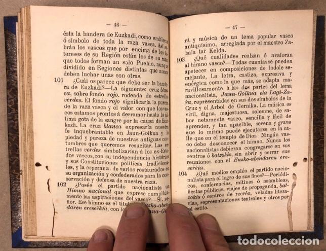 Libros antiguos: AMI VASCO POR IBER. IMPRENTA DE E. ARTECHE 1906 (BILBAO). - Foto 5 - 208319936