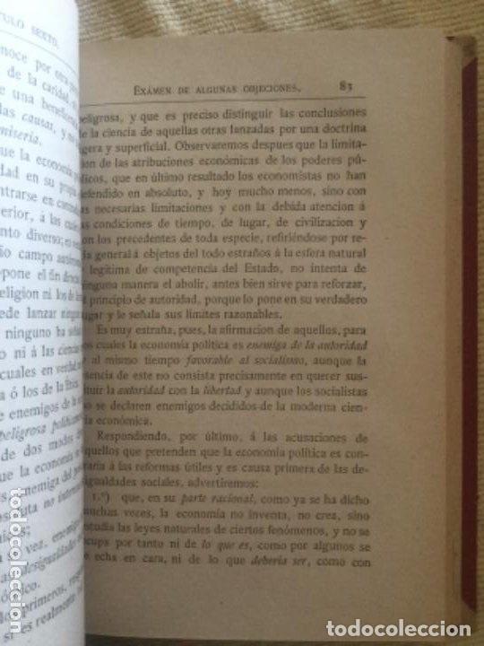 Libros antiguos: Guia ECONOMIA POLITICA - L. Cossa - 1884 Valladolid - 2ª Ed. - 275p. 18,5x13cm - Foto 3 - 208777241