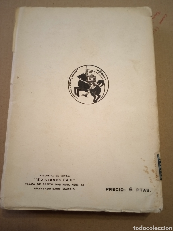 Libros antiguos: 1936 Notas del Block Joaquín Arrarás - Foto 3 - 208777991