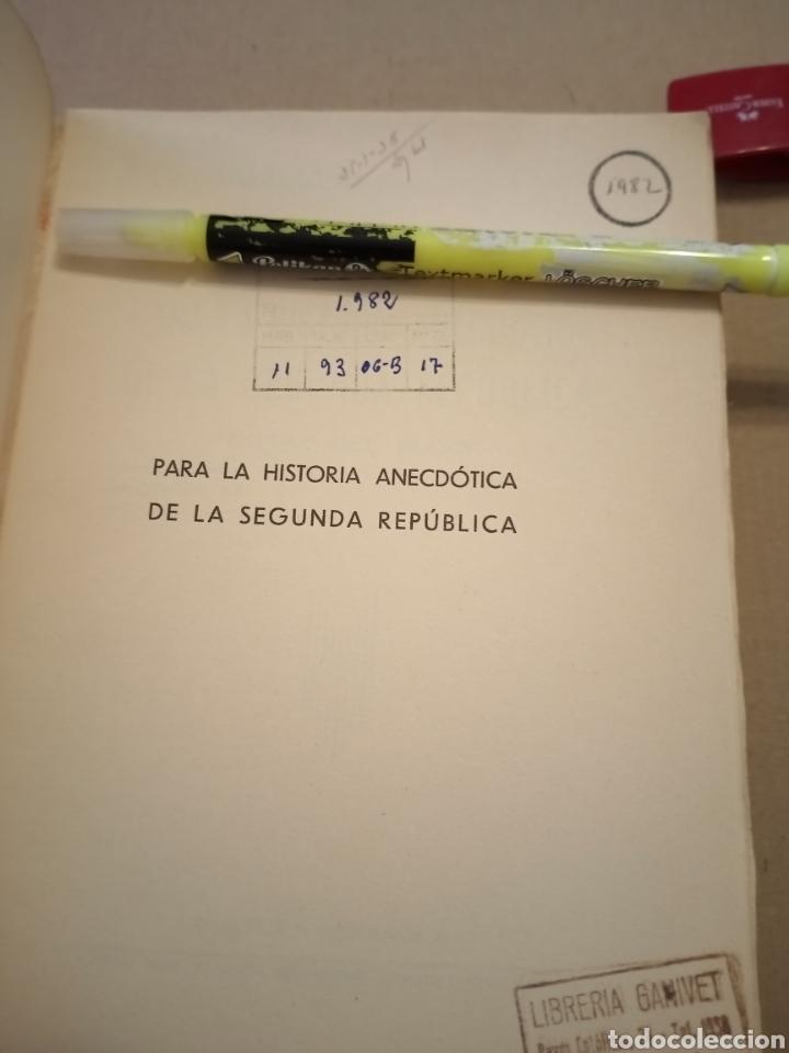 Libros antiguos: 1936 Notas del Block Joaquín Arrarás - Foto 4 - 208777991