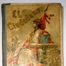 Libros antiguos: EL CIUDADANO LECTURAS MANUSCRITAS ÁNGEL BUENO HIJOS DE SANTIAGO RODRÍGUEZ 25ª EDICIÓN ILUSTRADA. . Lote 126140951