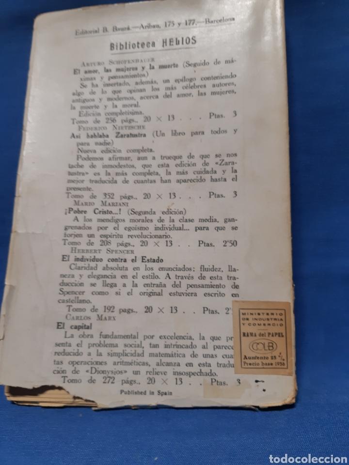 Libros antiguos: Libro. La genealogía de la moral por Federico nietzsche - Foto 2 - 210312216