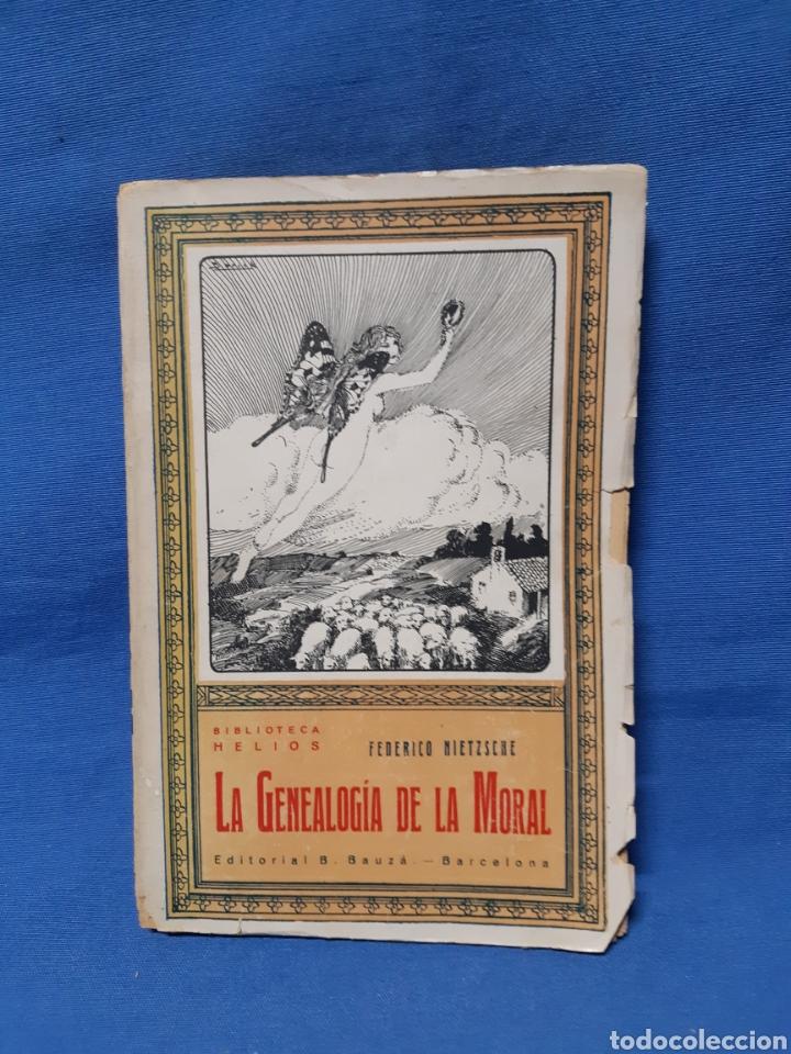 LIBRO. LA GENEALOGÍA DE LA MORAL POR FEDERICO NIETZSCHE (Libros Antiguos, Raros y Curiosos - Pensamiento - Política)