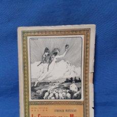 Libros antiguos: LIBRO. LA GENEALOGÍA DE LA MORAL POR FEDERICO NIETZSCHE. Lote 210312216