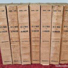 Libros antiguos: EN EL PODER Y EN LA OPOSICION. MANUEL AZAÑA. EDIT. ESPASA CALPE. 7 EJEMPLARES. 1934.. Lote 214244387