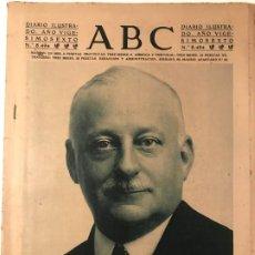 Libros antiguos: ABC 17 MARZO 1930 FALLECE PRIMO DE RIVERA. Lote 215814880