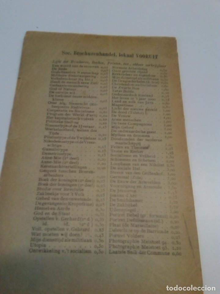 Libros antiguos: Programma-der-Belgische-Werklieden-Partij-Butengewoon Congress 1894 - Foto 5 - 216510216