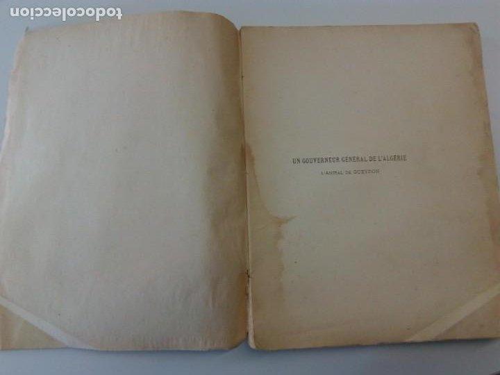 Libros antiguos: L C Dominique - Un Gouverneur Général De LAlgérie: LAmiral De Gueydon - 1908 - Foto 6 - 216577985