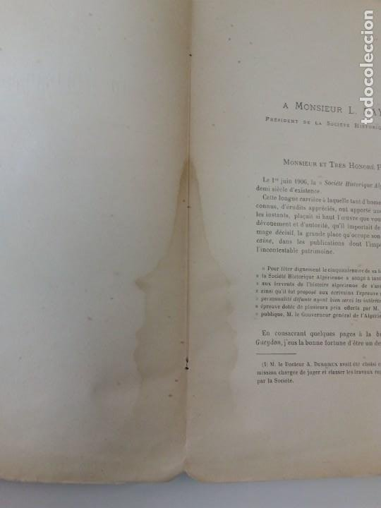 Libros antiguos: L C Dominique - Un Gouverneur Général De LAlgérie: LAmiral De Gueydon - 1908 - Foto 9 - 216577985