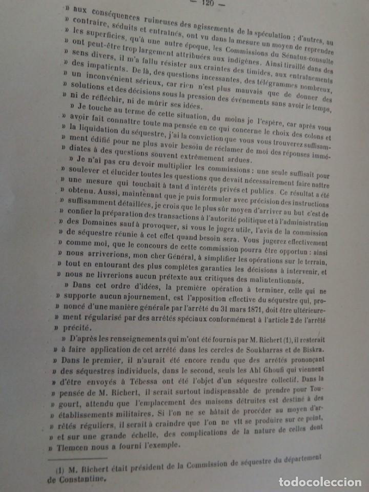 Libros antiguos: L C Dominique - Un Gouverneur Général De LAlgérie: LAmiral De Gueydon - 1908 - Foto 14 - 216577985
