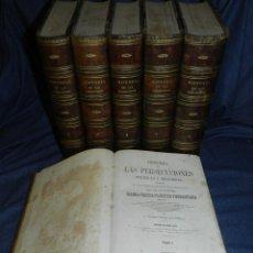 Libros antiguos: (MF) ALFONSO TORRES DE CASTILLA - HISTORIA DE LAS PERSECUCIONES POLITICAS Y RELIGIOSAS 1863, 6 VOLS. Lote 217336192