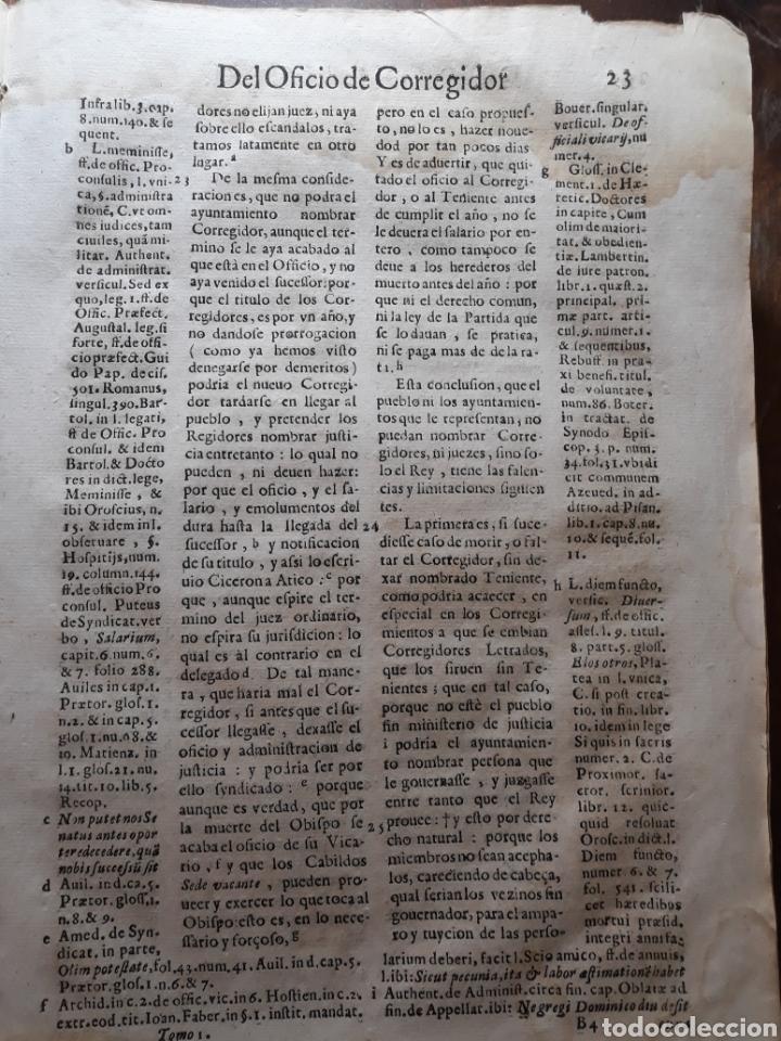 Libros antiguos: POLÍTICA PARA CORREGIDORES Y SEÑORES VASSALLOS ...TOMO PRIMERO .AÑO 1649 .LICENCIADO CASTILLO. - Foto 5 - 217924500