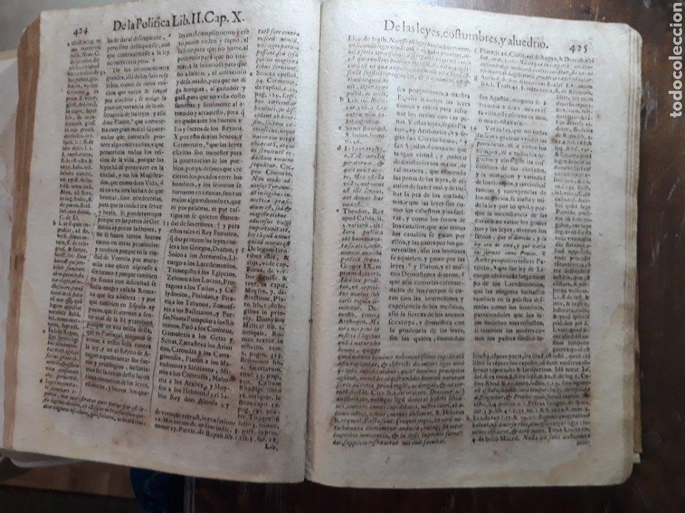 Libros antiguos: POLÍTICA PARA CORREGIDORES Y SEÑORES VASSALLOS ...TOMO PRIMERO .AÑO 1649 .LICENCIADO CASTILLO. - Foto 9 - 217924500