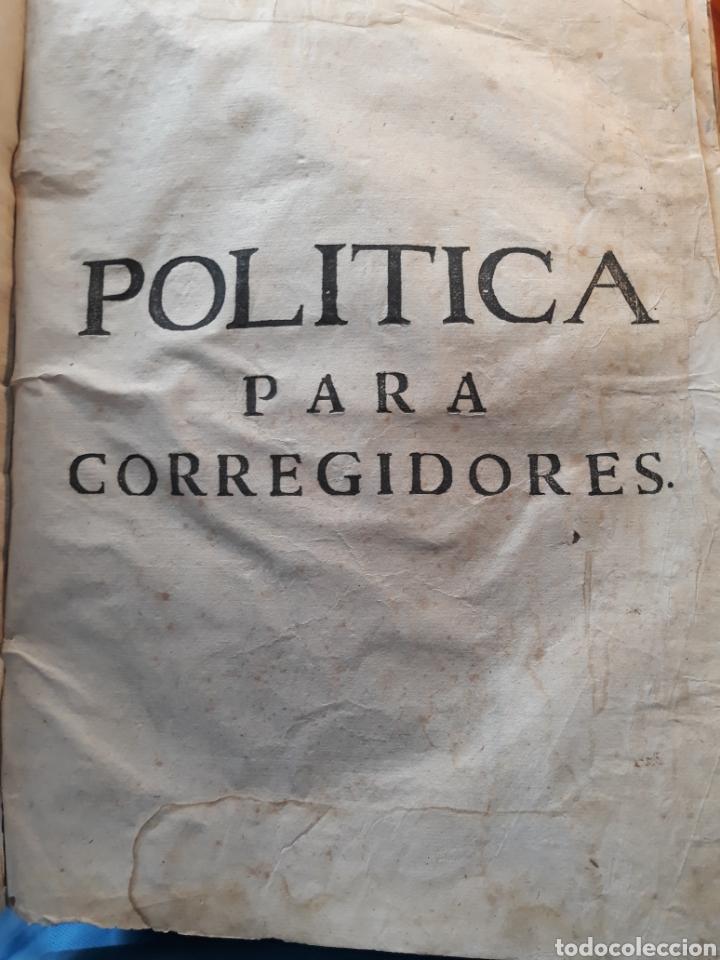 Libros antiguos: POLÍTICA PARA CORREGIDORES Y SEÑORES VASSALLOS ...TOMO PRIMERO .AÑO 1649 .LICENCIADO CASTILLO. - Foto 13 - 217924500