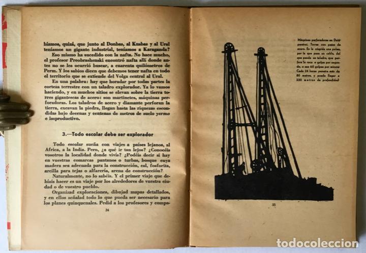 Libros antiguos: HISTORIA DE UN GRAN PLAN. - ILIN, M. - Foto 3 - 123202204