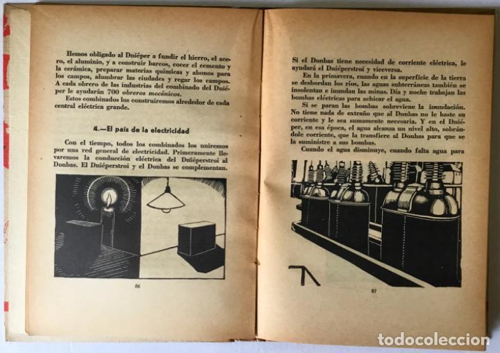 Libros antiguos: HISTORIA DE UN GRAN PLAN. - ILIN, M. - Foto 4 - 123202204