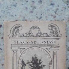 Libros antiguos: LA CASA DE JUNTAS DE GUERNICA. CARMELO DE ECHEGARAY. 20 ILUSTRACIONES CASA LUX. BILBAO , 1936. Lote 225874920