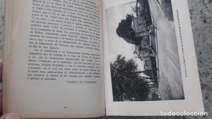 Libros antiguos: La casa de Juntas de Guernica. Carmelo de Echegaray. 20 Ilustraciones casa lux. Bilbao , 1936 - Foto 4 - 225874920