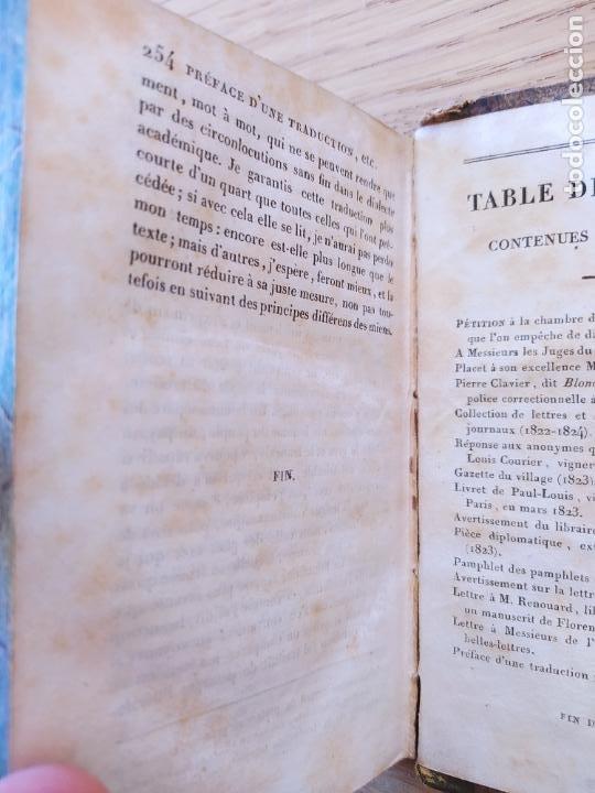 Libros antiguos: Pamphlets politiques et littéraires. Courier (Jean-Louis) Publicado por Paulin, 1831 - Foto 7 - 226041590