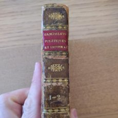 Libros antiguos: PAMPHLETS POLITIQUES ET LITTÉRAIRES. COURIER (JEAN-LOUIS) PUBLICADO POR PAULIN, 1831. Lote 226041590
