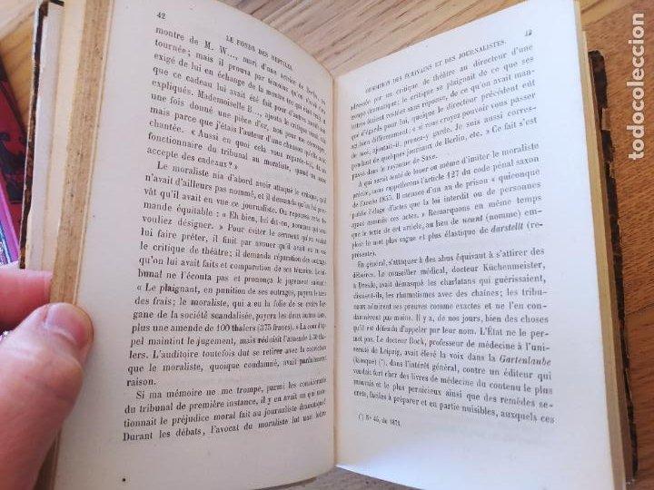 Libros antiguos: LE FONDS DES REPTILES (reptilienfond). WUTTKE HENRI. Publicado por MAURICE DREYFOUS. (1877) - Foto 5 - 241837505