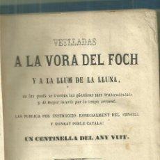 Libros antiguos: 4183.-CARLISMO-TRADICIONALISMO-CASTELLAR DEL VALLES,VETLLADES A LA VORA DEL FOCH-UN CENTINELLA. Lote 227219095