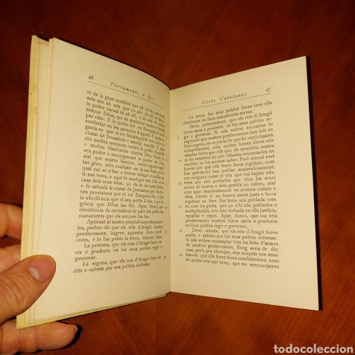 Libros antiguos: Parlaments a les Corts Catalanes 1928 Els Nostres Classics - Foto 5 - 234340530