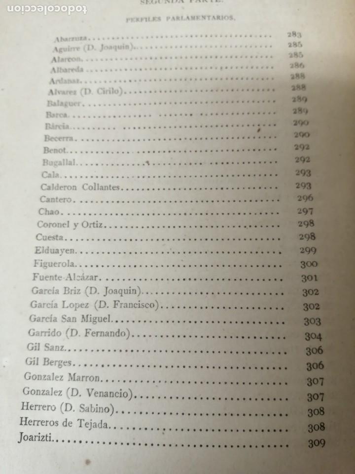 Libros antiguos: LOS ORADORES DE 1869 CAÑAMAQUE PRIMERA EDICION 1879 MUY RARO - Foto 9 - 234407135