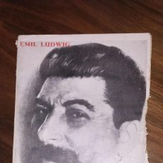 Livros antigos: EMIL LUDWING. STALIN. LAS SEIS CONDICIONES PARA LA VICTORIA. AÑO 1932. Lote 235232190