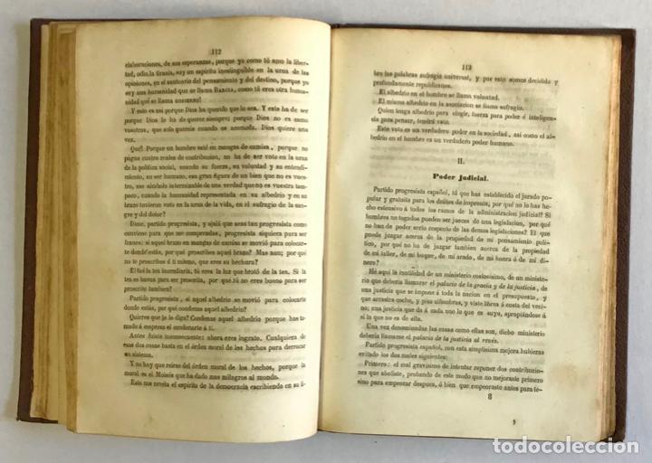 Libros antiguos: CATÓN POLÍTICO. - BARCIA, Roque. 1856 - Foto 3 - 123161420