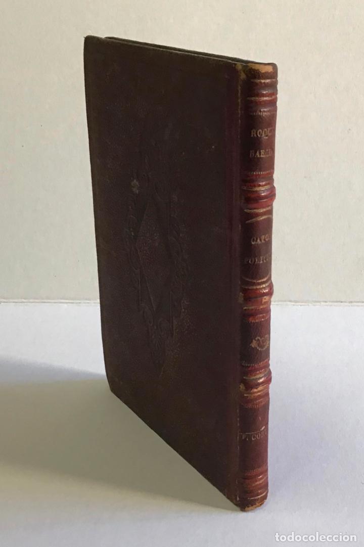CATÓN POLÍTICO. - BARCIA, ROQUE. 1856 (Libros Antiguos, Raros y Curiosos - Pensamiento - Política)