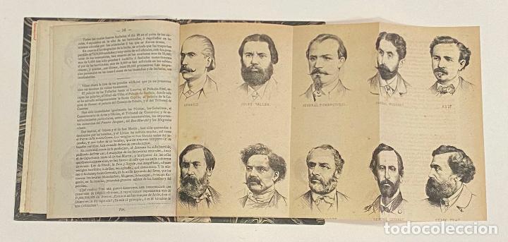 Libros antiguos: PARIS EN LLAMAS. Biografias de los miembros de La Commune. 1871. SOCIALISMO - ANARQUISMO - Foto 3 - 240866245