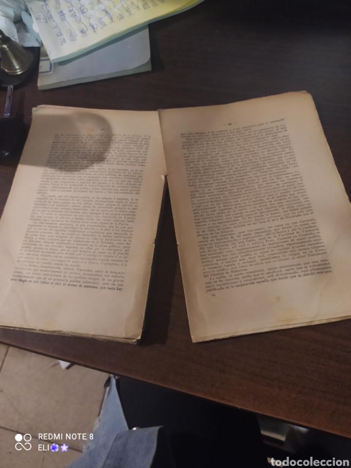 Libros antiguos: Discursos contra la ley de las jurisdicciones , 1906 , solidaritat catalana - Foto 4 - 242348050