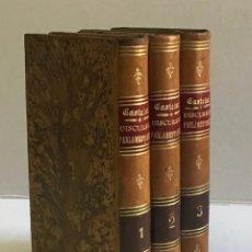 Libri antichi: DISCURSOS PARLAMENTARIOS... EN LA ASAMBLEA CONSTITUYENTE. - CASTELAR, EMILIO.. Lote 123173220